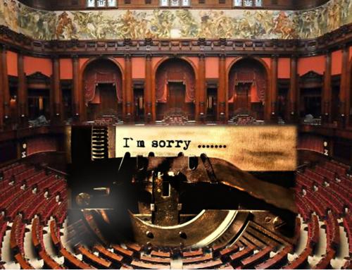 Per i politici vietato scusarsi o ammettere che hanno cambiato idea