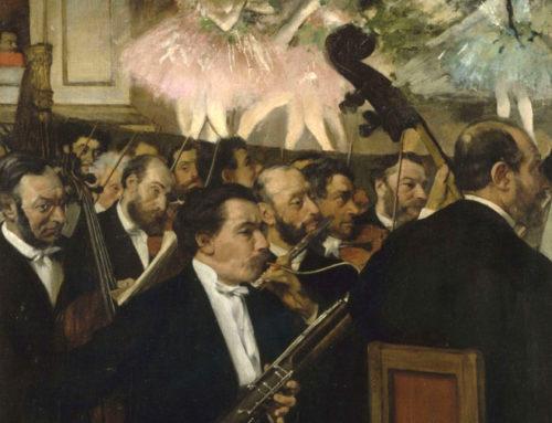 Degas, sempre meno impressionista