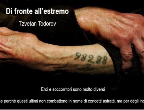 """""""Di fronte all'estremo"""" di Tzvetan Todorov"""